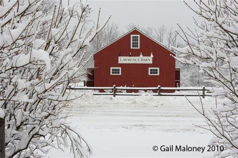 lawrence barn winter  gail maloney  england states
