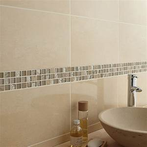 best faience cuisine marron et beige photos design With salle de bain mosaique