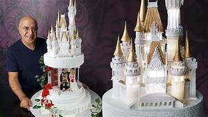 Disney Fairytale Castle Wedding Cake Story - Yeners Way
