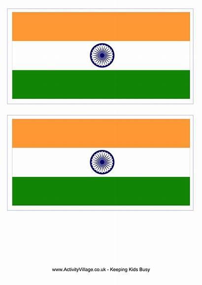 Flag India Template Flags Printable Templates Asia
