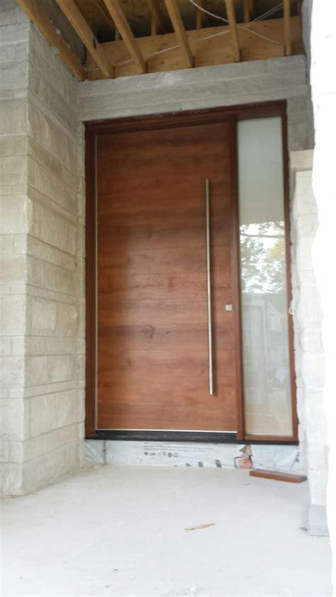 fiberglass door modern fiberglass woograin door  side