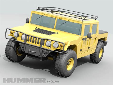 jeep hummer conversion hummer jeep 3d model