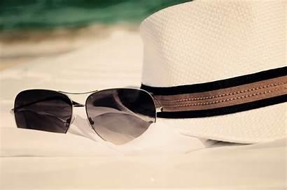 Sunglasses Beach Summer Hat Glasses Sun Accessories