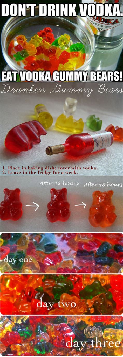 diy gummy bears diy vodka gummy bears pictures photos and images for facebook tumblr pinterest and twitter
