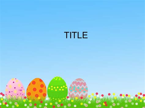 templates powerpoint gratis free download easter powerpoint templates everything
