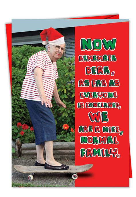 Christmas is the time when we send christmas wishes and holiday greetings to our friends and relatives. Risque Normal Family Christmas Card Funny Folks
