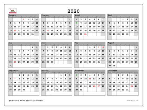calendar california usa michel zbinden en