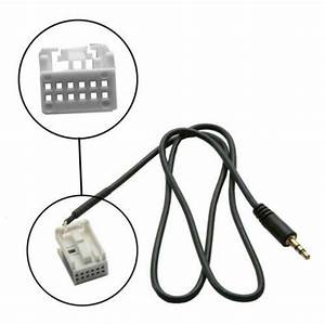 Aux In Input Interface Adapter Car Radio Stereo For Ipod