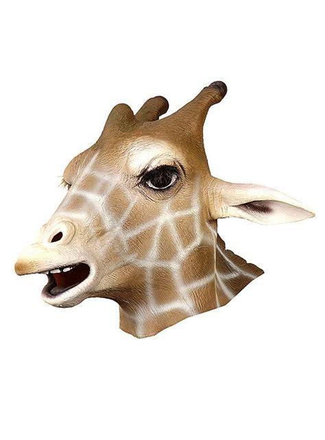 giraffe full mask   latex maskworldcom