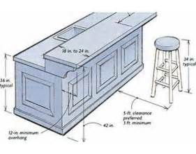 bar height kitchen island building a breakfast bar dimensions commercial spaces cabinets bar and search