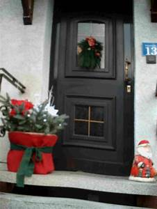 Advent Vor Der Haustür : weihnachtliche dekoration vor der hauseingangst r ~ Whattoseeinmadrid.com Haus und Dekorationen