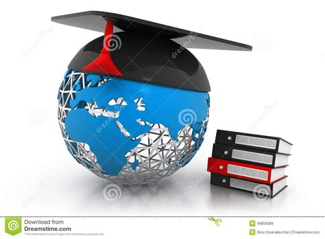 global education concept stock illustration image
