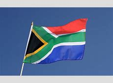 South Africa Hand Waving Flag 12x18