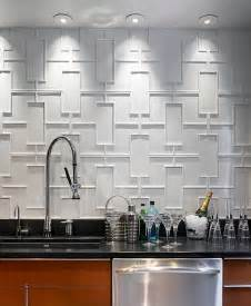 Kitchen Backsplash Trends Geometric Backsplash Of Modern Kitchen Decoist