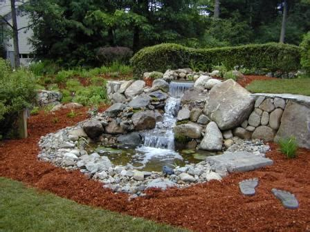 pond designs with waterfalls busy beaver pond designs