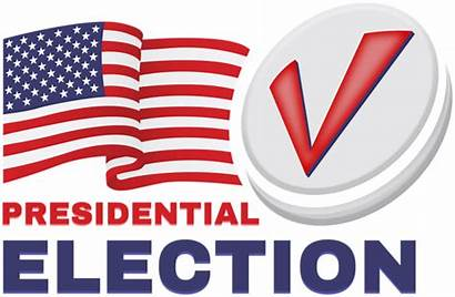 Election Clipart Presidential States United America Transparent