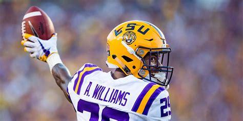 lsu cornerback greedy williams declares   nfl draft