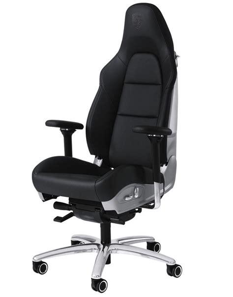 fauteuil de bureau porsche en cuir