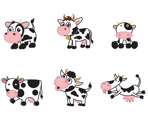 Free Cartoon Cow Vector Vector Art & Graphics