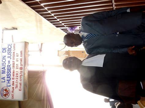 chambre nationale huissier de justice inauguration de la maison de l huissier de justice à lomé