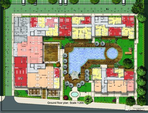 floor plans of great restaurant with a summer garden in
