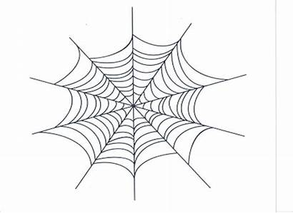 Spider Web Drawing Coloring Spiderweb Toddlers Pages