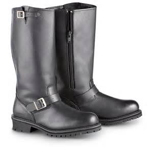 s engineer boots sale 39 s guide gear side zip engineer boots black 185457 motorcycle biker boots at sportsman