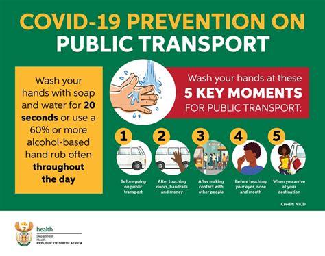COVID-19 Prevention On Public Transport - SA Corona Virus ...