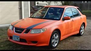 Novice Does Dyc - Dip Your Saab 9-2x - In Koi Orange