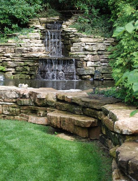 Wasserfall Garten Wand by Garden Waterfall Cascade Garden Water Features
