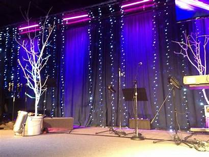 Stage Decorations Pageant Church Simple Backdrop Concert