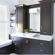 Bathroom Countertop Basin Cabinets by Espresso Cabinets Modern Bathroom TerraCotta Properties