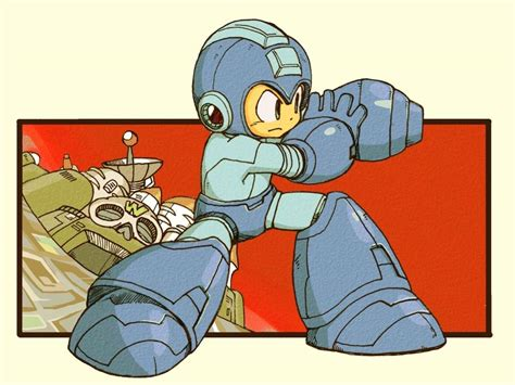 Mega Man Concept Art Anime Amino