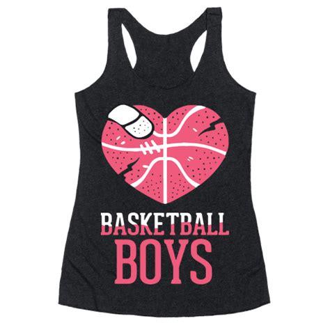basketball boys racerback tank human