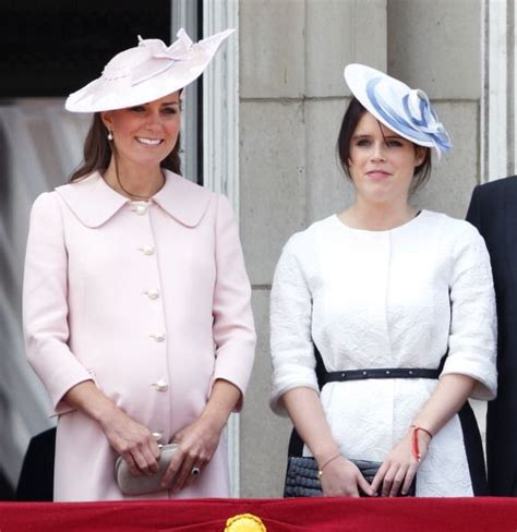 Catherine Duchess of Cambridge and Princess Eugenie of ...