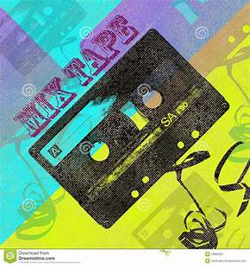 Mix tape cd cover stock illustration image of grunge 18365957 for Mixtape cd cover