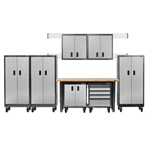 gladiator garage cabinets sears gladiator premier series pre assembled 66 in h x 162 in