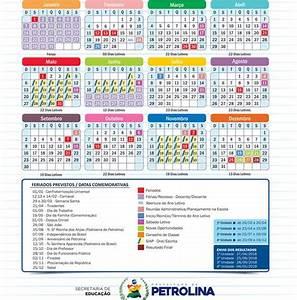 Divulgado em Petrolina calendário letivo 2018 da rede