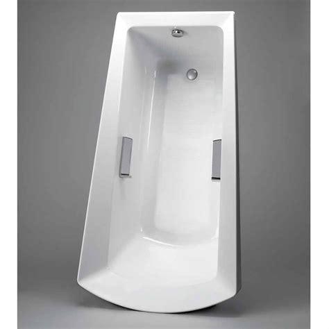 toto soiree  standing bathtub cotton white