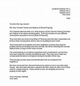 10 landlord reference letter templates samples With reference letter from landlord template