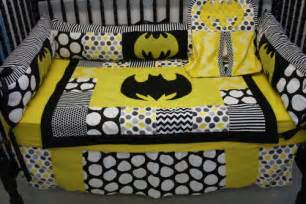 batman crib bedding set