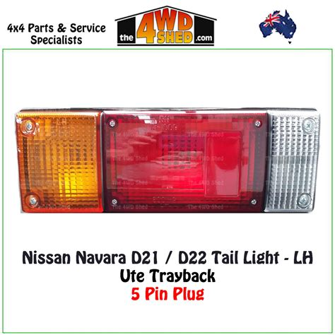 navara   tray  tail light lh