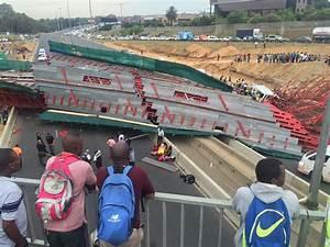 Investigations underway into M1 bridge collapse - Sandton ...