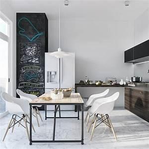 Table Cuisine Scandinave : d co cuisine blanche scandinave de r ve ~ Melissatoandfro.com Idées de Décoration
