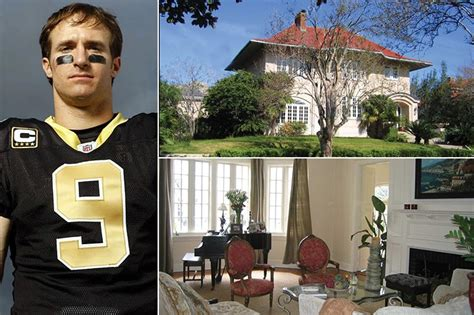 Drew brees married longtime sweetheart brittany brees, and they seem to be the perfect match. 27 NFL Players' Jaw Dropping Houses & Cars - We Hope They Don't Save On Property Insurance ...