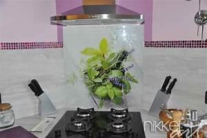 Crédence Cuisine En Verre Imprimé : cr dence de cuisine en verre imprim blog nikkel art ~ Edinachiropracticcenter.com Idées de Décoration