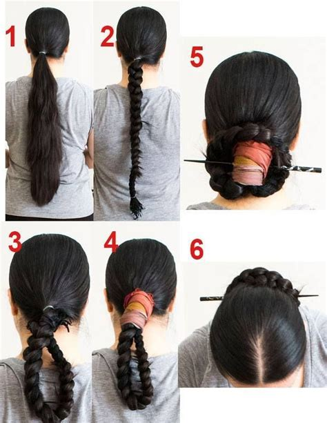 pin  vai jlt  womens hanbok traditional hairstyle