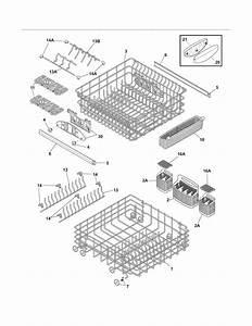 Frigidaire Pld4375rfc3 Dishwasher Parts