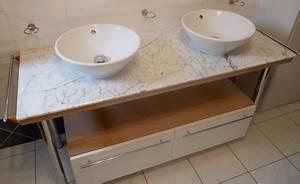 Meuble Salle De Bain Marbre : marbre pour meuble de salle de bain inyocounty ~ Teatrodelosmanantiales.com Idées de Décoration