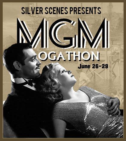 Announcing the MGM Blogathon!   Film lovers, Classic films, Mgm